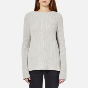 Helmut Lang Women's Summer Cotton Cashmere Jumper - Agate
