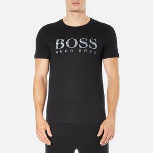 BOSS Orange Men's Tommi 3 Large Logo T-Shirt - Black