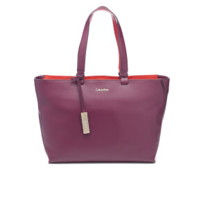 Calvin Klein Women's Julia Tote Bag - Bordeaux