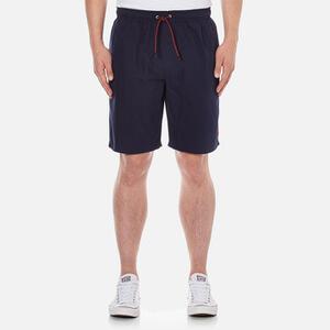 Luke 1977 Men's Cagy Knee Length Swim Short - Marina Navy
