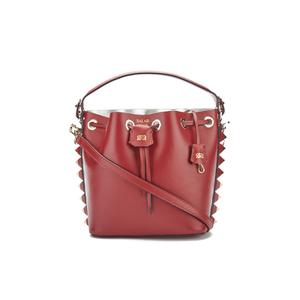 SALAR Women's Tala Small Bucket Bag - Bordeaux