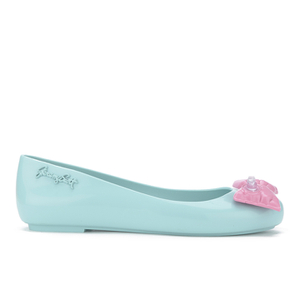 Jeremy Scott for Melissa Women's Space Love Ballet Flats - Peppermint Bow