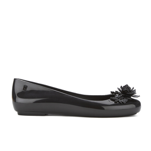 Alexandre Herchcovitch for Melissa Women's Space Love Flower Ballet Flats - Black