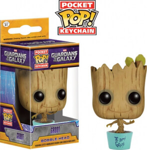 Baby Groot Ltd Ed Pocket Pop! Keychain