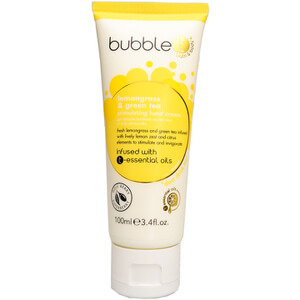 Bubble T Hand Cream - Lemongrass & Green Tea 100ml