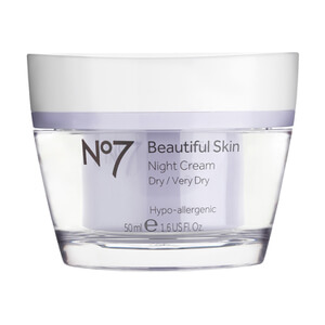 Boots No.7 Beautiful Skin Night Cream - Dry to Very Dry