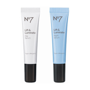 Boots No.7 Lift and Luminate Day and Night Serum Set
