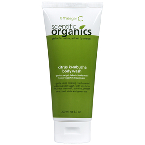 EmerginC Scientific Organics Citrus Kombucha Body Wash