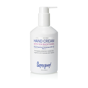 Supergoop SPF 40 Forever Young Hand Cream with Sea Buckthorn