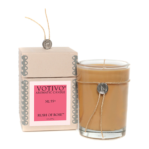 Votivo Aromatic Candle - Rush of Rose