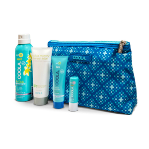 Coola Go Green Not Red Organic Suncare Travel Set