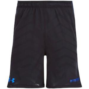 Under Armour Men's Raid Exo 8 Inch Shorts - Black/Blue
