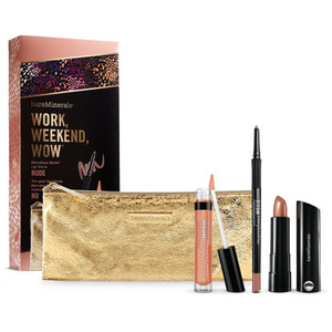 bareMinerals Work Weekend Wow Marvelous Moxie Lip Trio - Pink