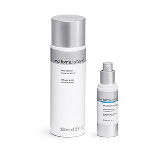 MD Formulations Cleanser and Moisture Defense Lotion