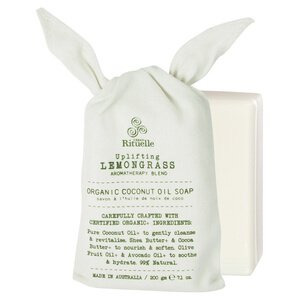 Urban Rituelle Organic Coconut Oil Soap - Lemongrass blend
