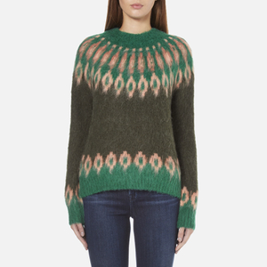 Samsoe & Samsoe Women's Vaga O Neck Jumper - Rosin