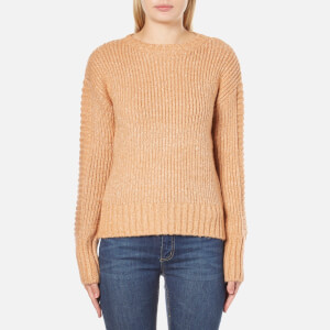 MINKPINK Women's By The Fire Zip Back Sweatshirt - Blush