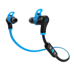 SMS Audio by 50 Cent: Sports Bluetooth Earphones (Water Resistant) - Blue
