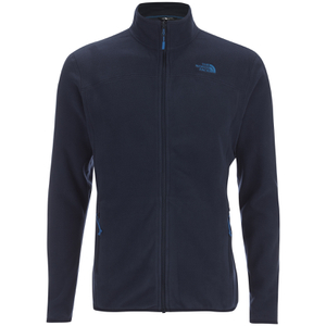 The North Face Men's 100 Glacier Full Zip Jumper - Urban Navy