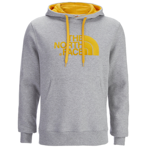 The North Face Men's Drew Peak Pullover Hoody - Heather Grey