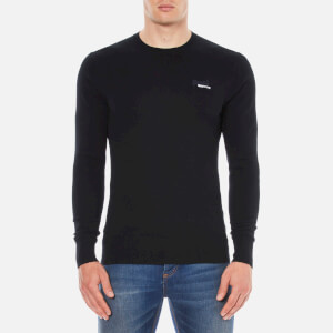 Superdry Men's Orange Label Crew Jumper - Black