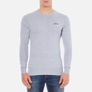 Superdry Men's Orange Label Crew Jumper - Egret