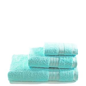 Restmor 100% Egyptian Cotton 3 Piece Towel Bale - Seafoam