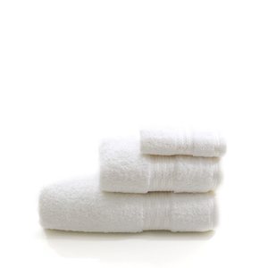 Restmor 100% Egyptian Cotton 3 Piece Towel Bale - White