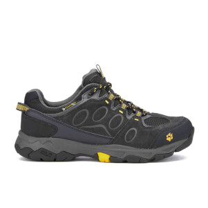 Jack Wolfskin Men's Mountain Attack 5 Texapore Low Trainers - Burley Yellow