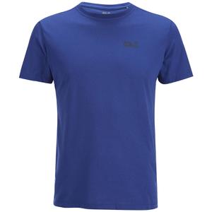Jack Wolfskin Men's Essential T-Shirt - Deep Sea Blue