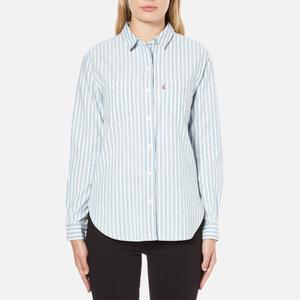 Levi's Women's Good Workwear Boyfriend Shirt - Verbena Indigo