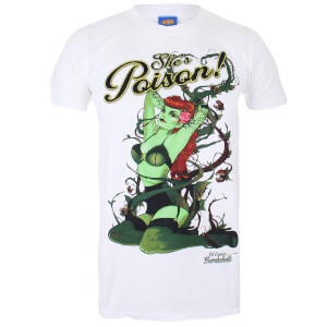 DC Bombshells Men's Poison Ivy T-Shirt - White
