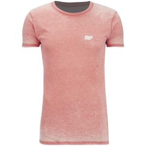 Camiseta Burnout - Naranja