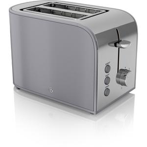 Swan ST17020GRN 2 Slice Retro Toaster - Grey