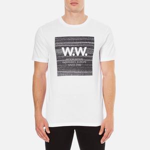 Wood Wood Men's Square T-Shirt - White