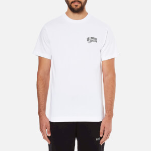 Billionaire Boys Club Men's Small Arch Logo Short Sleeve T-Shirt - White