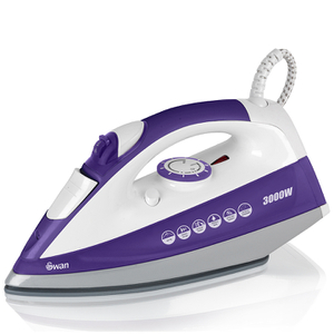 Swan SI30110N 2.8kW Powerpress Iron - White/Purple
