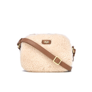 UGG Women's Claire Box Zip Cross Body Bag - Chestnut