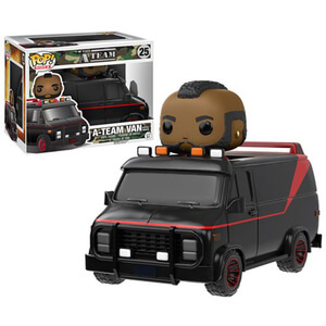 A-Team Van with B.A. Baracus Funko Pop! Vehicle