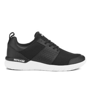 Supra Men's Scissor Mesh Running Trainers - Black