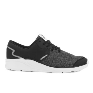 Supra Men's Noiz Low Top Trainers - Black/Charcoal