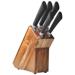 HOH Knife Set in Wooden Block (5 Piece)