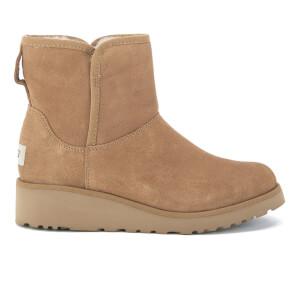 UGG Women's Kristin Classic Slim Sheepskin Boots - Chestnut