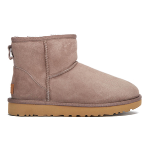 UGG Women's Classic Mini II Sheepskin Boots - Stormy Grey