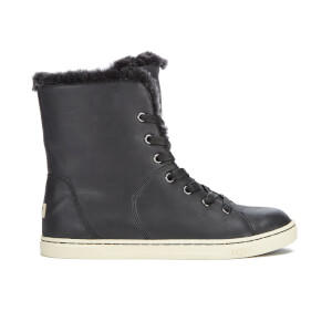 UGG Women's Croft Luxe Quilt Hi-Top Trainers - Black