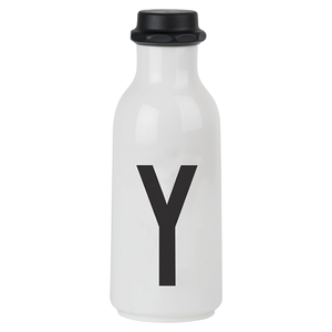 Design Letters Water Bottle - Y