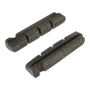 Trivio Cartridge Carbon Brake Inserts - 55mm - Shimano - Carbon