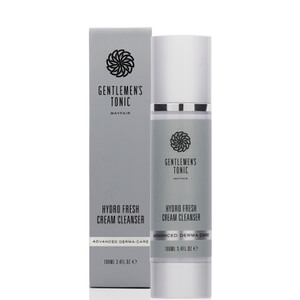 Gentlemen's Tonic Advanced Derma Care Hydro Fresh Cream Cleanser 100ml