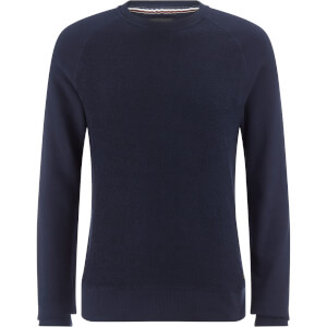 Produkt Men's Knit Raglan Crew Neck Sweatshirt - Navy Blazer