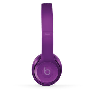 Beats by Dr. Dre: Solo2 On-Ear Headphones - Violet (Manufacturer Refurbished)